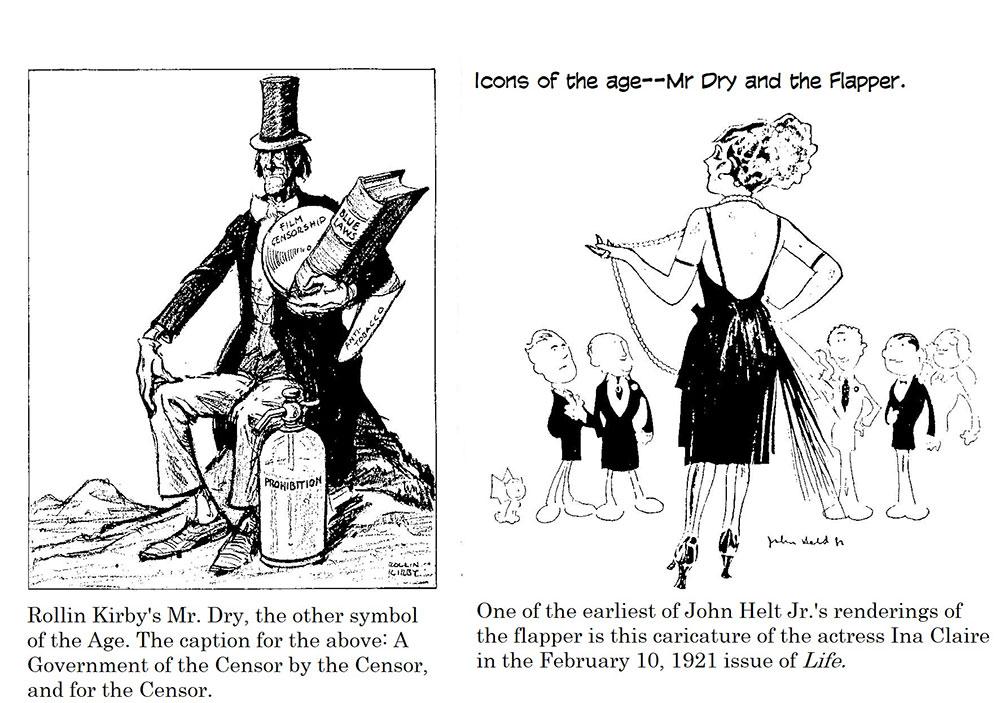 Cartooning The Roaring Twenties